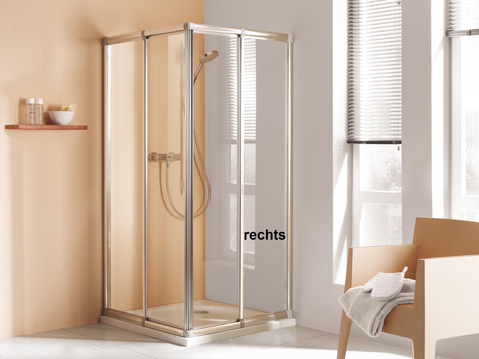 dusche eckeinstieg schiebet ren h he 175 cm echtglas oder kunstglas. Black Bedroom Furniture Sets. Home Design Ideas