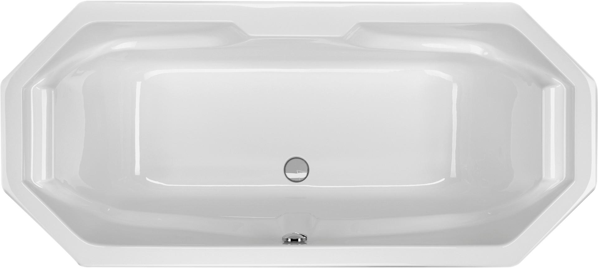 achteckbadewanne 190 x 85 x 48 cm badewanne badewanne achteckwanne. Black Bedroom Furniture Sets. Home Design Ideas