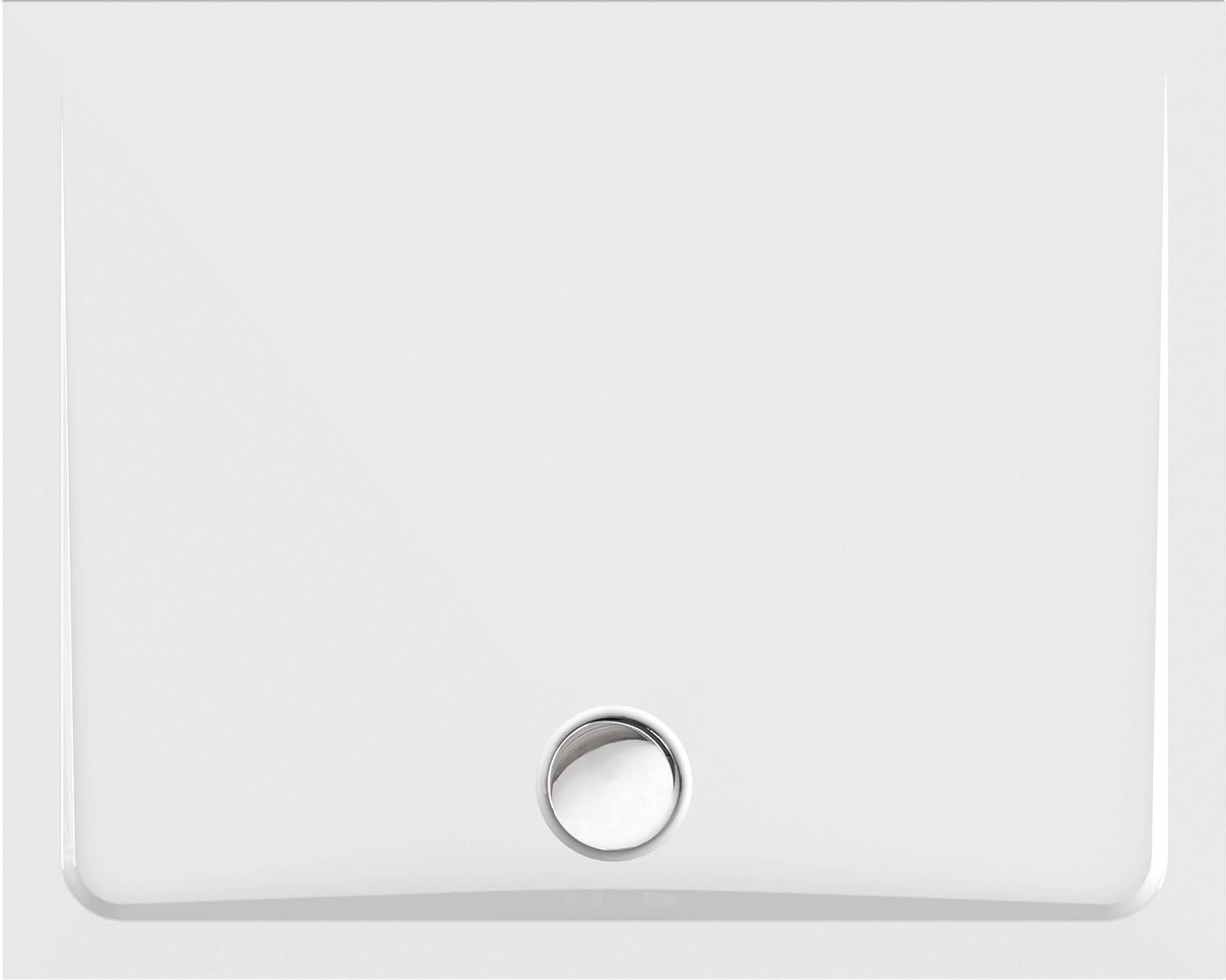 duschtasse superflach 100 x 80 x 2 5 cm wei duschwanne. Black Bedroom Furniture Sets. Home Design Ideas