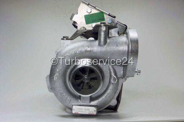 Neuer Original Garrett Turbolader für BMW 525d (E60 / E61) / 2497 ccm, 130 KW-177 PS 750080-0001/7/13/15/16, 750080-5018S, 7791709E/G/H/I/K, 11657791709E/G/H/I/K, 11657791758/G/I/K