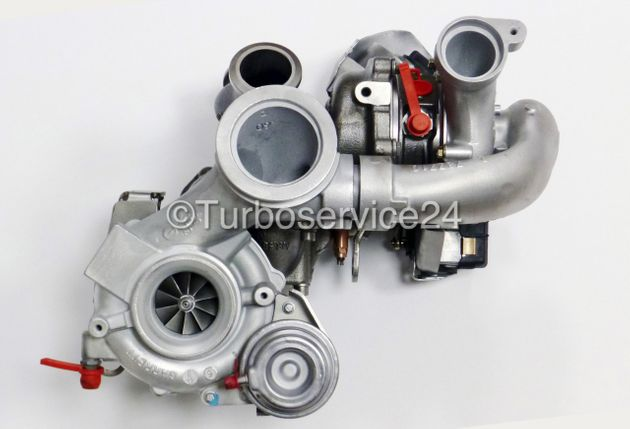 Turbocharger for Audi A6, A7, Q5 (SQ5) 3.0 TDI / 313 HP / 320 HP / 326 HP / 059145654L, 059145653L, 805714-0004, 805716-0004, 805714-4, 805716-4, 805713-0004