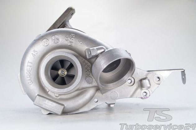 Turbolader für Mercedes C 200 CDI, C 220 CDI (W203/S203), E 200 CDI, E 220 CDI (W211/S211) / 90 KW, 122 PS / 110 KW, 150 PS ohne Ladedrucksteller