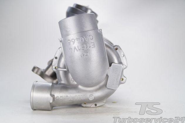 Austauschturbolader für Toyota Auris 2.0 D-4D, Toyota Avensis 2.0 D-4D / 93 KW, 126 PS