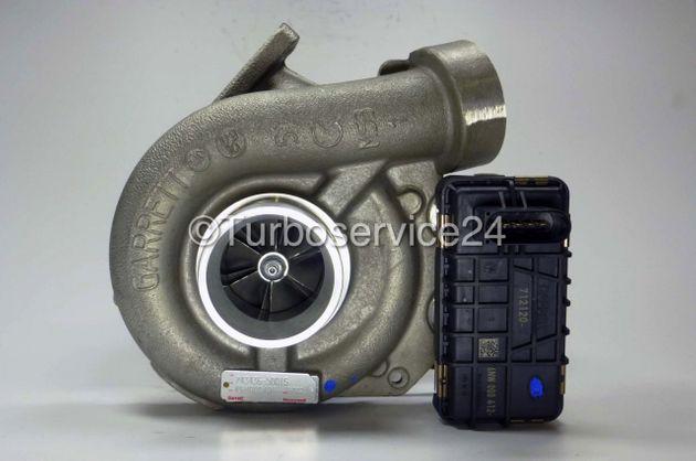 Neuer Original Garrett Turbolader für Mercedes E 320 CDI (W211 / S211), S 320 CDI (W220) / 150 KW-204 PS 734899-0001, 743436-0002/5001S, 2205586-0/00, 22055860/00, 6480960099, 6480960299, A6480960099, A6480960299, A648096029980