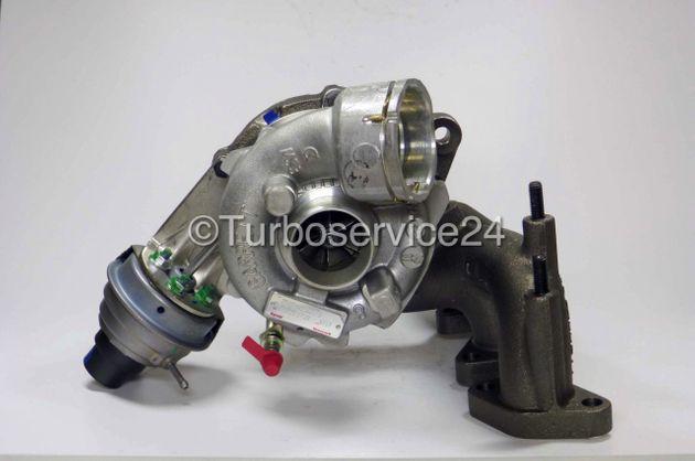 Neuer Original Garrett Turbolader für Audi A3, Seat Altea, Leon, Toledo, Skoda Octavia,VW Golf V, Jetta, Passat, Touran / 2.0 TDI / 125 KW - 170 PS 757042-0008,757042-0010,757042-0013,757042-5013S,757042-5014S