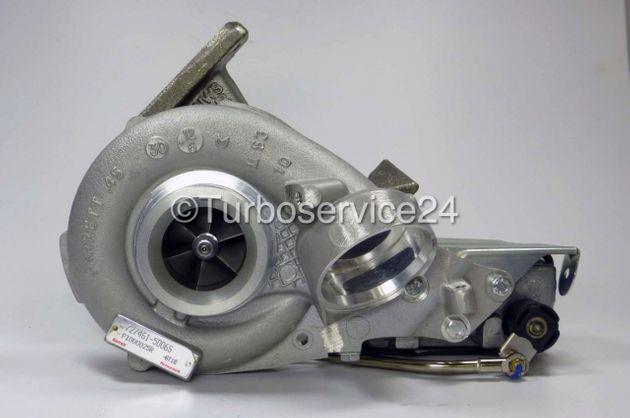 Neuer Original Garrett Turbolader für Mercedes C 200 CDI, C 220 CDI (W203/S203), E 200 CDI, E 220 CDI (W211/S211) / 90 KW-122 PS / 110 KW-150 PS 727461-0002/3/4/5,727461-5006S,742693-0002/S/3S