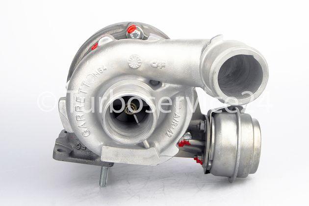 Turbocharger ALFA ROMEO 147, FIAT BRAVO II, DOBLO, MULTIPLA, STILO 1.9 JTD / 88 kW, 120 HP / 736168-0002  937 A3.000