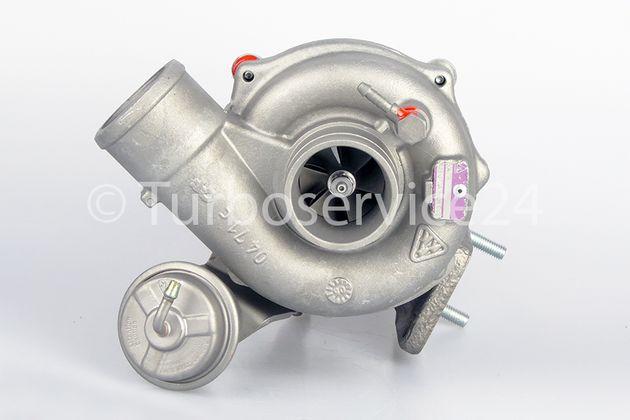 Turbolader IVECO Multicar-Straßenkehrmaschine M26 WAK45 4x4 53039880072 53039700072
