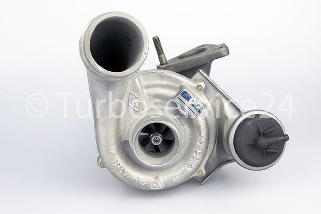 TURBOLADER RENAULT CLIO II,  ESPACE III, KANGOO, LAGUNA I, MEGANE I, 1.9 dTi, VOLVO S40, V40 1.9 DI / 59 KW, 80 PS / 72 KW, 98 PS / 66 KW,  90 PS / 70 kW, 95 PS / 53039880014 53039880038 700830 454165
