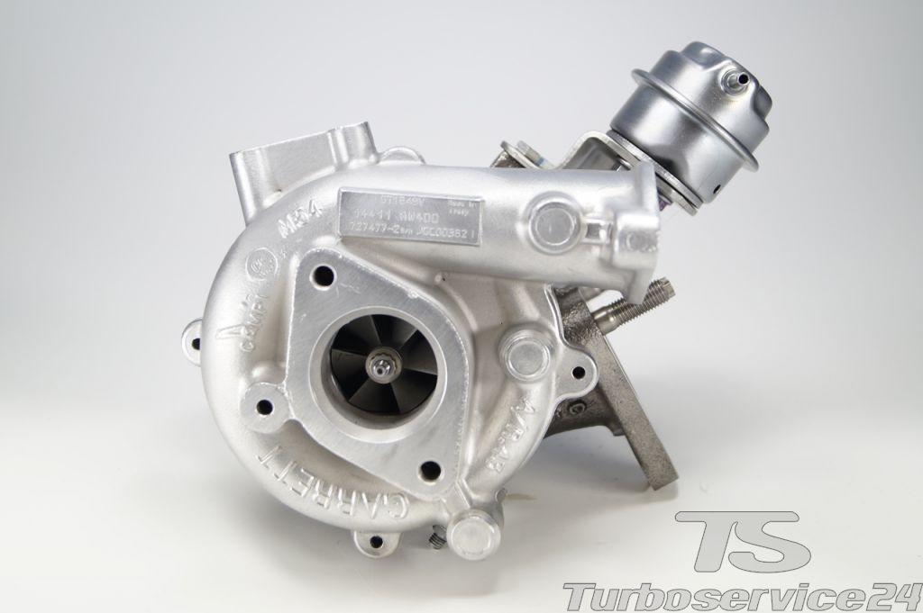 Re-manufactured Turbocharger for Nissan Almera 2.2 Di, Nissan Primera 2.2 dci, Nissan X-Trail 2.2 DI (T30)