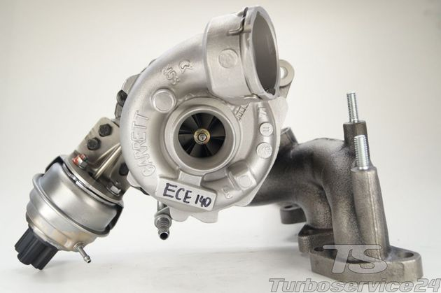 Re-manufactured Turbocharger for Dodge Avenger, Caliber, Journey, Jeep Compass, Patriot, Mitsubishi Grandis, Lancer, Outlander / 2.0D