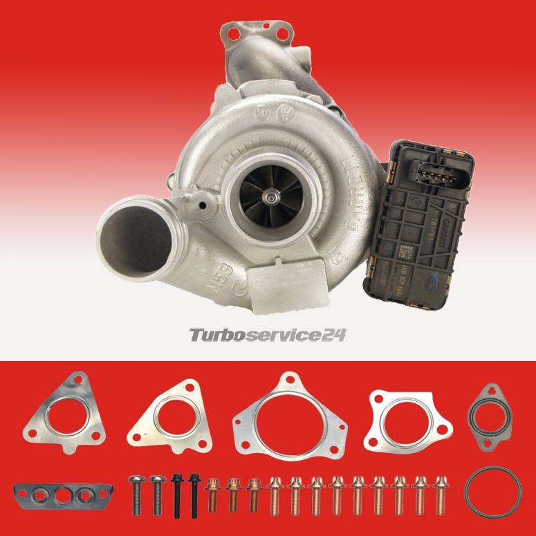 E S-Klasse 3.0CDI OM642 211PS-235PS o.El Turbolader MERCEDES C Montagesatz
