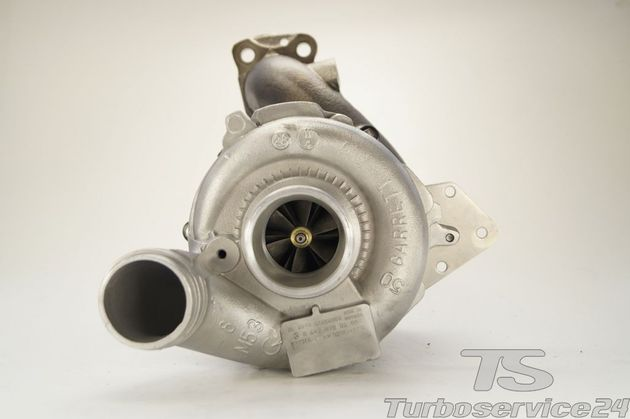 Re-manufactured Turbocharger for Chrysler, Jeep, Mercedes / OM642 / without electronic wastegate actuator