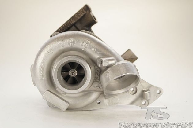 Re-manufactured Turbocharger for Mercedes C 200 CDI, C 220 CDI (W204 / S204), E 200 CDI, E 220 CDI (W211 / S211) without electronic wastegate actuator