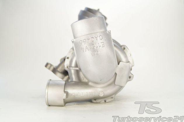 Austauschturbolader für Toyota RAV4 2.2 D-4D / 100 KW, 136 PS / 110 KW, 150 PS