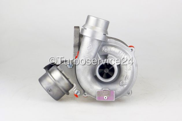 Re-manufactured Turbocharger for Nissan Qashqai, Tiida, Renault Clio, Megane, Modus, Scenic, Kangoo, Laguna 1.5 dCi / 76 KW, 103 HP / 78 KW, 106 HP / 81 KW, 110 HP / 54399700030