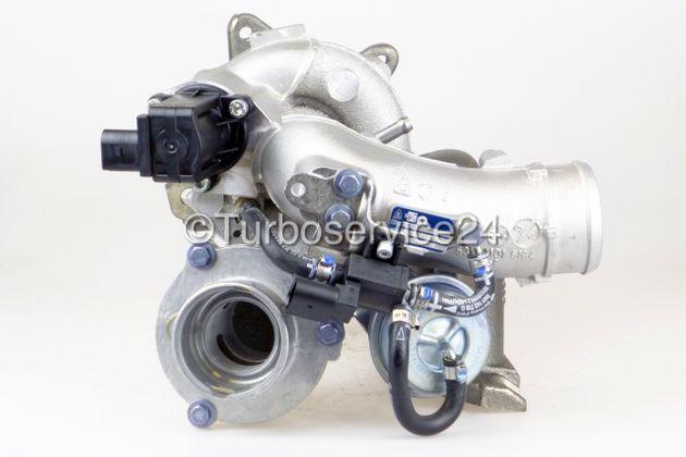 Neuer Original KKK / Borgwarner Turbolader für Audi A3, TT, Seat Altea, Leon, Toledo, Skoda Octavia, VW EOS, Golf V, Jetta, Passat 2.0 TFSi / 147 KW - 200 PS / AXX BHZ BPY BWA BZC / K03-0105 K03-086 / 06F145701B