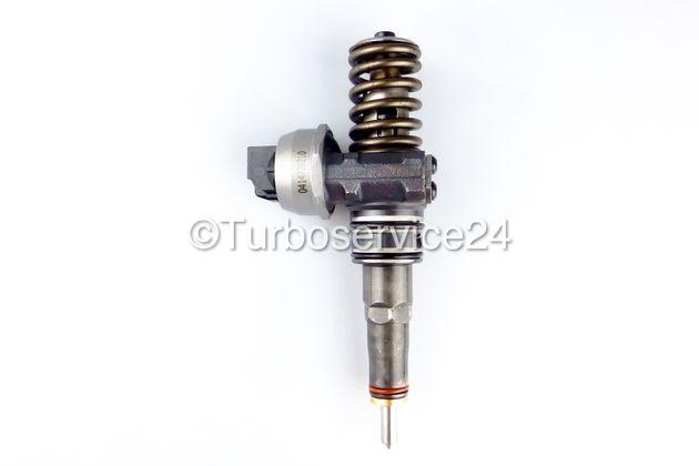 Original Bosch Pumpe Düse Einheit Einspritzdüse Injektor für VW Touareg 2.5 R5 TDI, Touareg 5.0 V10 TDI, T5 Bus 2.5 TDI / 96 KW-130-131 PS / 120 KW-163 PS / 128 KW-174 PS / 230 KW-313 PS / 0414720210 0414720260 0986441511 0986441561