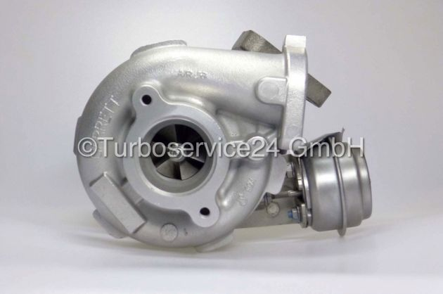 Re-manufactured Turbocharger for Nissan Navara, Pathfinder 2.5 DI (dCi) / 171 HP / 174 HP / QW25 (D40, R51), 751243, GTA2056LV, 14411-EB300, 14411-DK1498