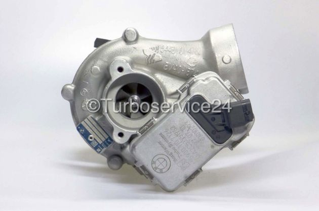 Re-manufactured Turbocharger (small level) for BMW 535d, 740d, X5, X6 / 210 KW - 286 PS / 220 KW - 299PS / 225 KW - 306 PS / 230 KW - 313 PS / N57D30TOP M57D30TÜ2 N55B30 N57D30 54409700006