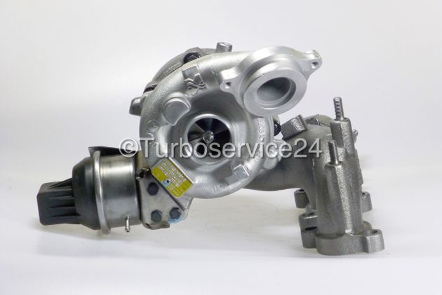 Re-manufactured Turbocharger for Audi A3, TT, Seat Altea, Leon, Toledo, Skoda Octavia, Superb, Yeti, VW Golf VI, Jetta, Passat, Scirocco, Tiguan 2.0 TDI / 163 HP / 170 HP / CBBB CEGA 03L253010D