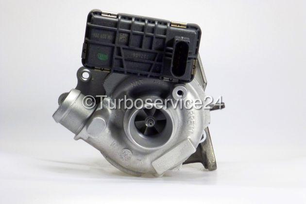Austauschturbolader (mit Ladedrucksteller) für Jaguar S-Type, XF, XJ / Links / 2.7 TDVi / 152 KW - 207 PS / 752341