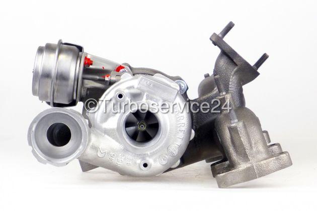 Re-manufactured Turbocharger for Seat Ibiza 1.9 TDI Cupra R / 160 HP / BTX BPX BUK 742614