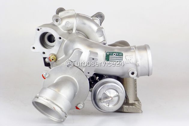Re-manufactured Turbocharger for Audi, Seat, Skoda, VW 1.8 TSFI / TSI / 112 KW - 152 PS / 118 KW - 160 PS / BZB CDAA CDAB CDAC