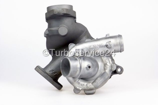 Re-manufactured Turbocharger for Citroen C8 2.2 HDI, Fiat Ulysse II 2.2 JTD, Lancia Phedra 2.2 JTD, Lancia Zeta 2.2 JTD, Peugeot 807 2.2 HDi without hole