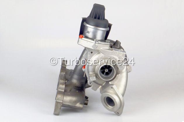 Turbolader für Audi, Seat, Skoda, VW 1.6 TDI / 55 KW, 75 PS / 66 KW, 90 PS / 77 KW, 105 PS / 85 KW, 115 PS / CAYA CAYB CAYC CLNA 03L253056R KKK / Borgwarner