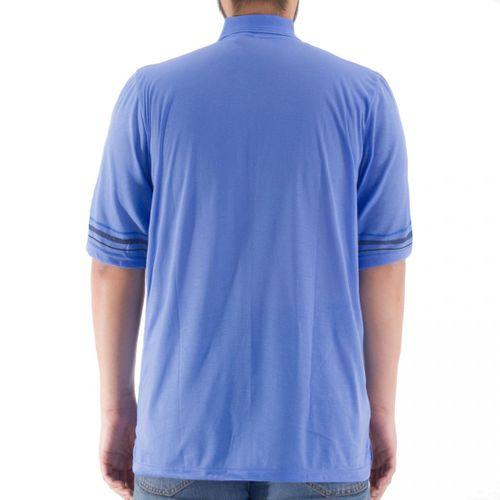 Romesa - Herren Polo Shirt  Große Größen 3XL-5XL dünne Streifendruck – Bild 12