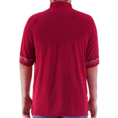 Romesa - Herren Polo Shirt  Große Größen 3XL-5XL dünne Streifendruck – Bild 4