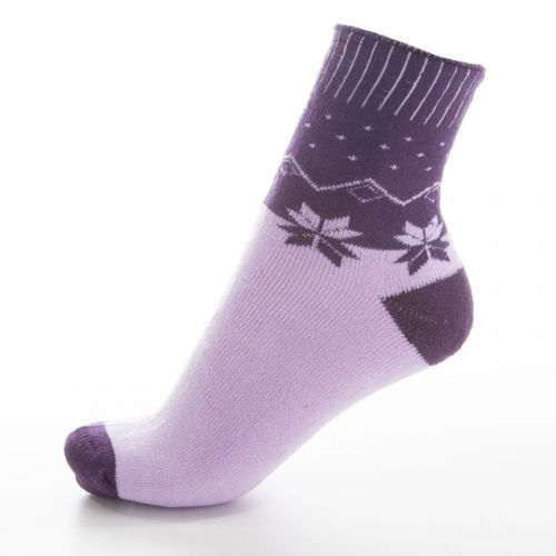 AMZF - Thermo Socken Damen Schneeflocken Design 6er Pack – Bild 6