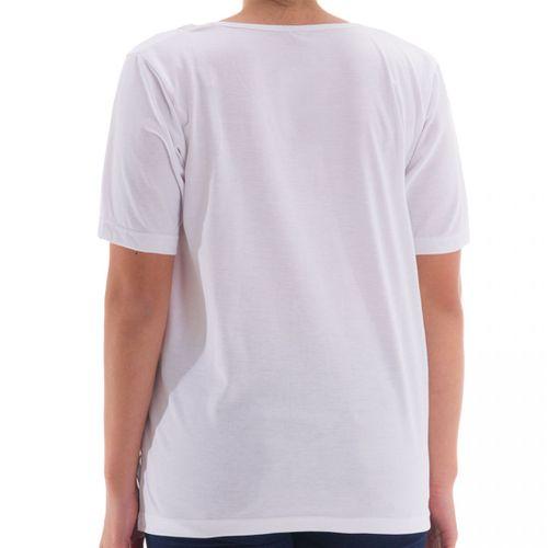 Zeitlos - T-Shirt mit Stein Applikationen am Kragen – Bild 6