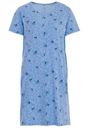 Nachthemd Kurzarm Blumenranken – Bild 3