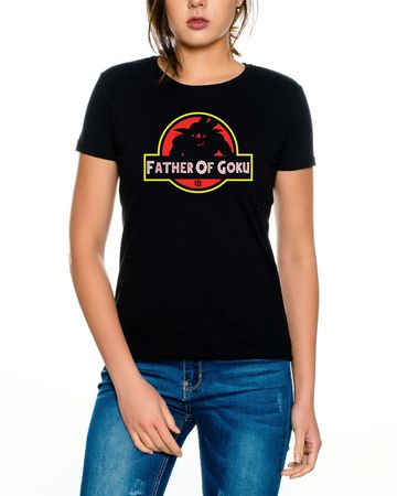 Father Goku Women T-Shirt – Bild 2