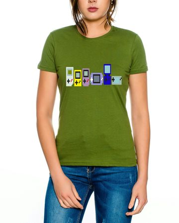 Game Evolution boy 16-Bit snes mario super kart 8-bit yoshi Women´s T-Shirt – Bild 5