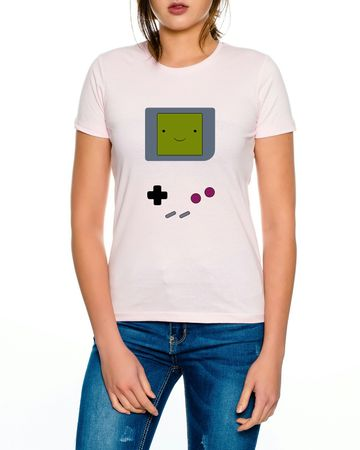 Game Smile Boy 16-Bit snes mario super kart 8-bit yoshi Women´s T-Shirt – Bild 1