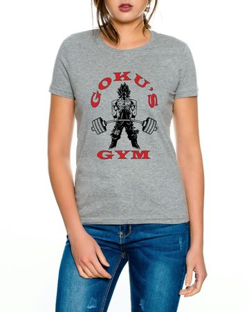 Goku`s Gym Golds Women T-Shirt – Bild 1