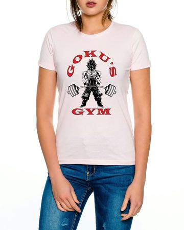 Goku`s Gym Golds Women T-Shirt – Bild 3