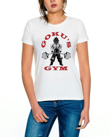Goku`s Gym Golds Women T-Shirt – Bild 4