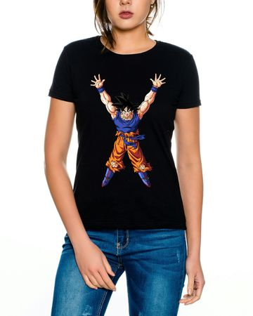 Goku Power Women T-Shirt – Bild 4