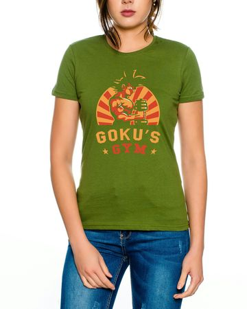 Goku Retro Gym Women T-Shirt – Bild 4