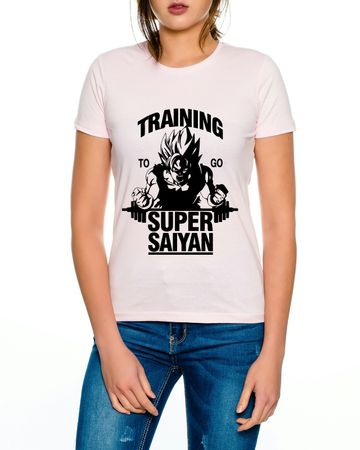 Super Saiyajin Damen T-Shirt – Bild 4