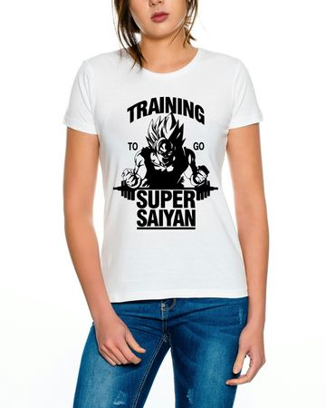 Super Saiyajin Damen T-Shirt – Bild 5