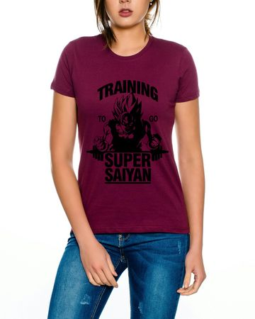Super Saiyajin Damen T-Shirt – Bild 1
