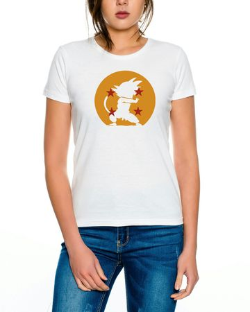 Dragon Kamehameha Ball Son Goku Roshi DBZ Kult Fun Manga Anime Women T-Shirt – Bild 4