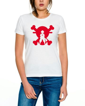 Ace Ruffy One Monkey Anime Piece Zoro Whitebeard Women T-Shirt – Bild 2