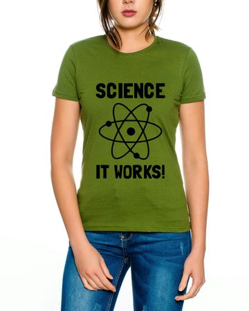 Big Science works Bang Theory Nerd Damen T-Shirt  – Bild 4