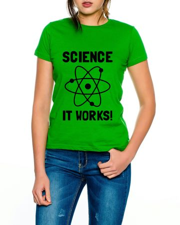 Big Science works Bang Theory Nerd Damen T-Shirt  – Bild 3